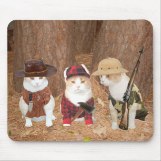 Adventure Kitties Mouse Pads