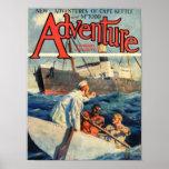 adventure,magazine,cover,excitement,vintage,retro, poster