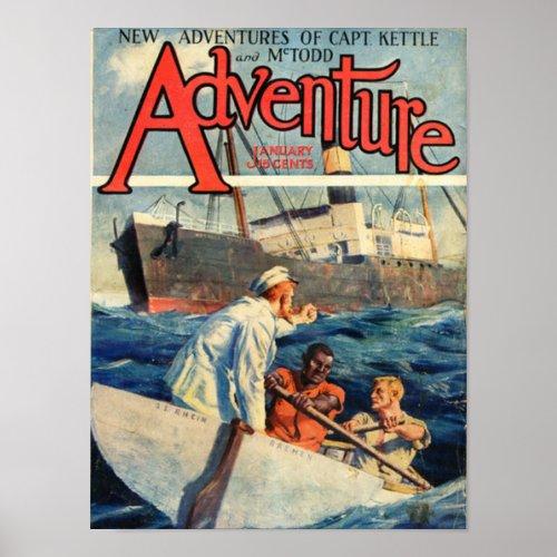 adventure,magazine,cover,excitement,vintage,retro,