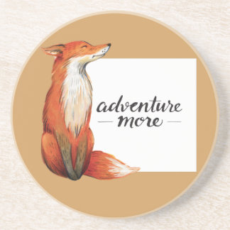 adventure more fox sandstone coaster
