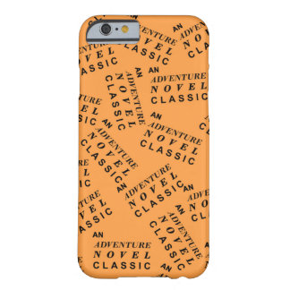 Adventure novel classic barely there iPhone 6 case