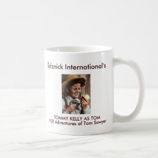 Adventure of Tom Sawyer Classic White Coffee Mug