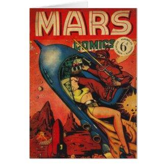 Adventure on Mars Card