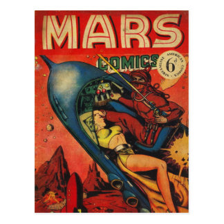 Adventure on Mars Postcard