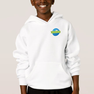 Adventure Ridge small logo Kids Hoodie