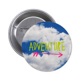 Adventure Sky Pinback Button