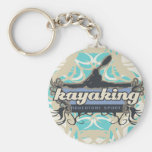 Adventure Sport Kayaking Tshirts and Gifts Key Chains