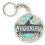 Adventure Sport Kayaking Tshirts and Gifts Keychain