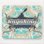 Adventure Sport Kayaking Tshirts and Gifts Mouse Pads