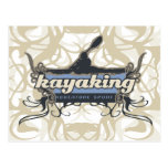 Adventure Sport Kayaking Tshirts and Gifts Postcard