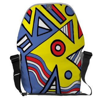 Adventure Success Delight Rejoice Messenger Bag
