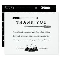 Adventure Themed Thank You Cards for Baby Shower