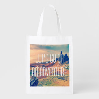 Adventure Wanderlust Grocery Bag