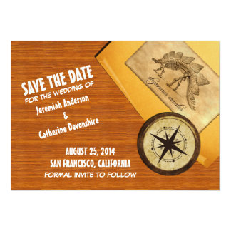Adventure Wedding Save the Date Invite