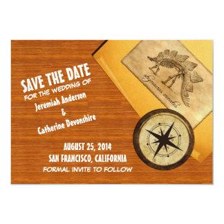 """Adventure Wedding Save the Date Invite 5"""" X 7"""" Invitation Card"""