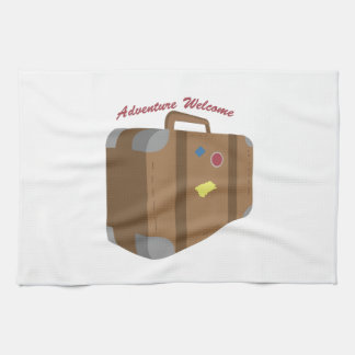 Adventure Welcome Hand Towel