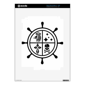 Adventure wheel vector decals for the iPad 2