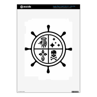 Adventure wheel vector skins for iPad 3
