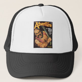 Adventure with a Pirate Trucker Hat