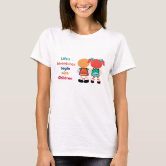 Adventure with Children T-Shirt