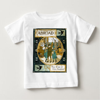 Adventures Abroad by Ship Baby T-Shirt