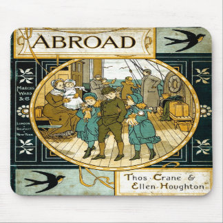 Adventures Abroad by Ship Mousepad