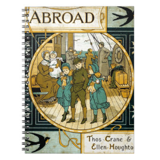 Adventures Abroad by Ship Spiral Notebooks