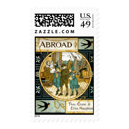 Adventures Abroad by Ship Stamps