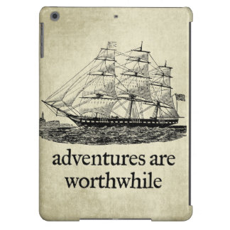Adventures Are Worthwhile iPad Air Cases