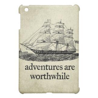 Adventures Are Worthwhile  iPad Mini Cases
