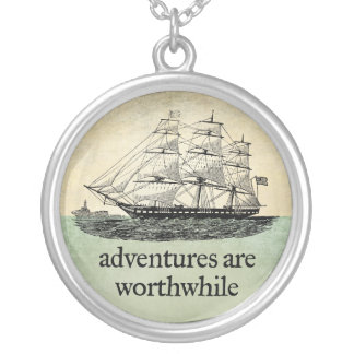 Adventures Are Worthwhile Necklace