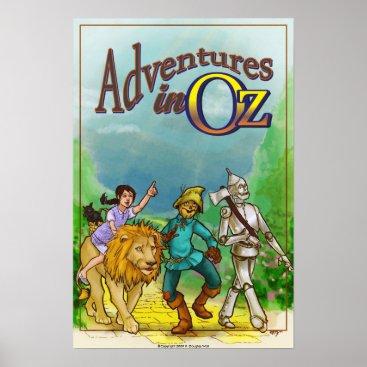 Fdouglaswall Adventures in Oz - Wizard Poster