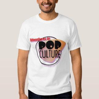 Adventures in Pop Culture Logo tee
