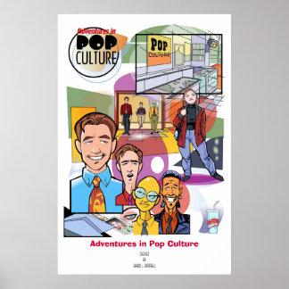 Adventures in Pop Culture Poster