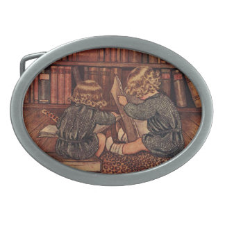 Adventures in the Library Belt Buckle