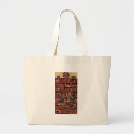Adventures in the Library Canvas Bags