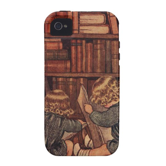 Adventures in the Library Case-Mate iPhone 4 Case