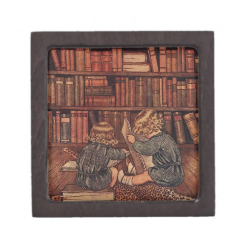 Adventures in the Library Premium Trinket Boxes