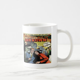 Adventures into the Unknown Coffee Cup Classic White Coffee Mug