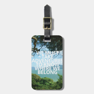 Adventures | Luggage Tag