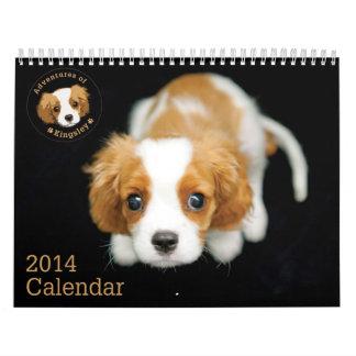 Adventures of Kingsley 2014 Calendar