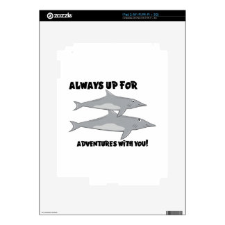 Adventures With You Decal For The iPad 2