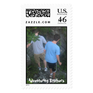 Adventuring Brothers Stamp