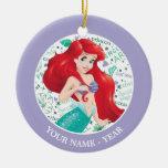 Adventurous Ariel Ceramic Ornament
