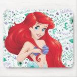 Adventurous Ariel Mouse Pad