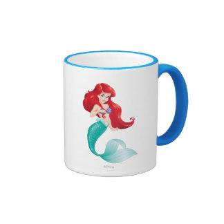 Adventurous Ariel Ringer Coffee Mug
