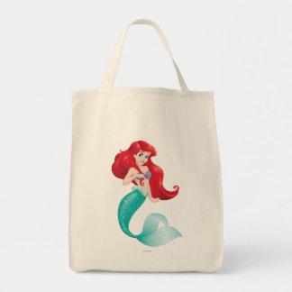 Adventurous Ariel Tote Bag