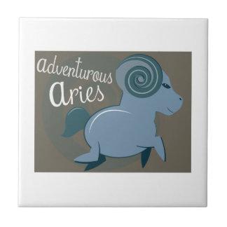 Adventurous Aries Ceramic Tiles