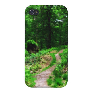 Adventurous bunch path iPhone 4/4S case