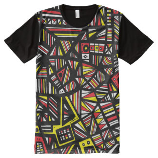 Adventurous Transformative Aptitude Electrifying All-Over Print T-shirt